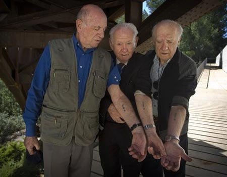 Tattoos From Auschwitz Horror Reunite Lost Inmates