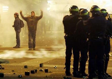 Riots Paris 2007 Riots in Paris as Sarkozy Has