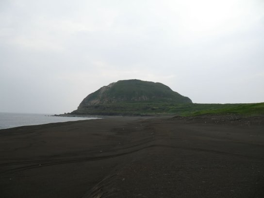 4add4d0ec88 Mount Suribachi overlooks the landing beaches. During the battle for Iwo  Jima