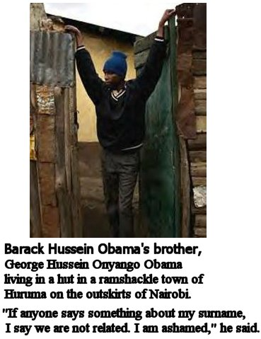 obama brother in mud hut