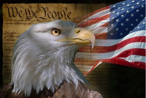 Holiday & Seasonal Purposeful Bald Eagle Trinket Box Flag Inside Spread Wings Patriotic July 4th Americana
