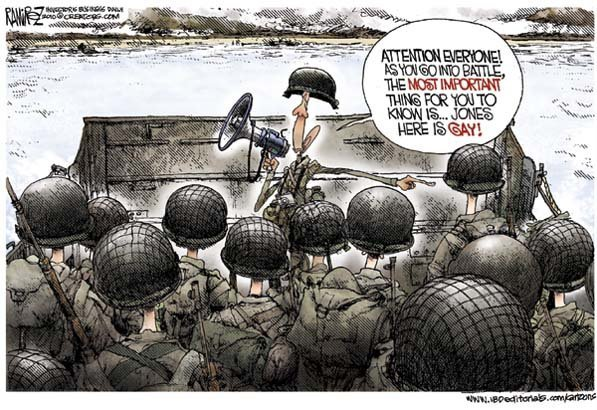 Straight Troops Must Shower With Gays, Says DOD Working Group--'Gay Men Have ...